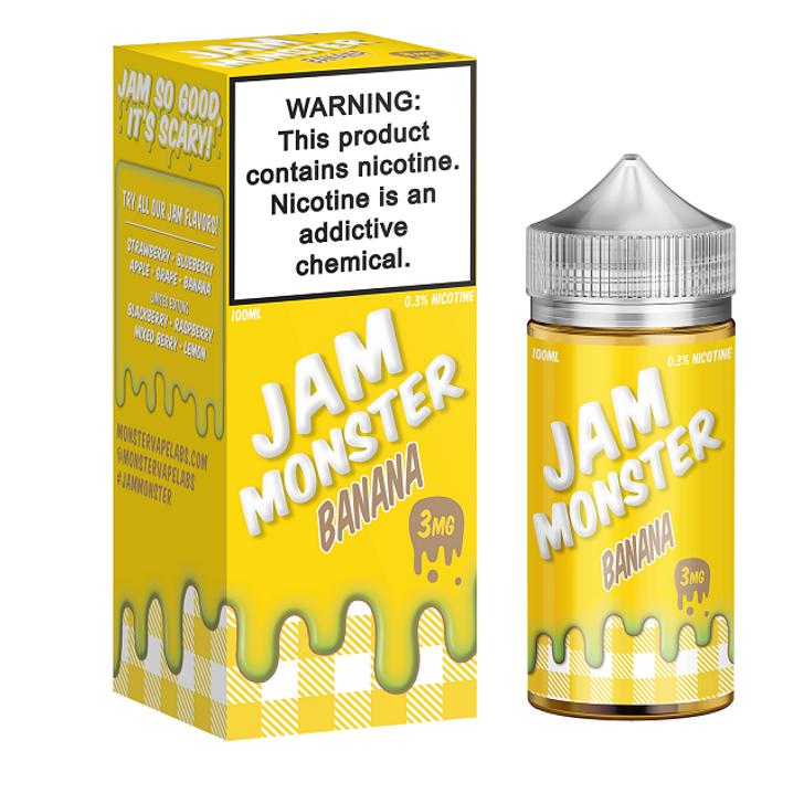 Jam Monster E-Liquid - Banana