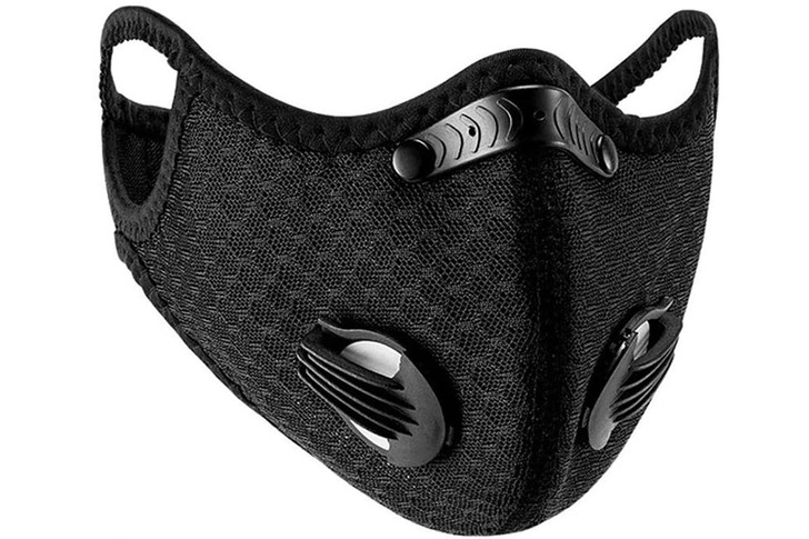 Cloth Sport Valved Carbon Mask (1pc)