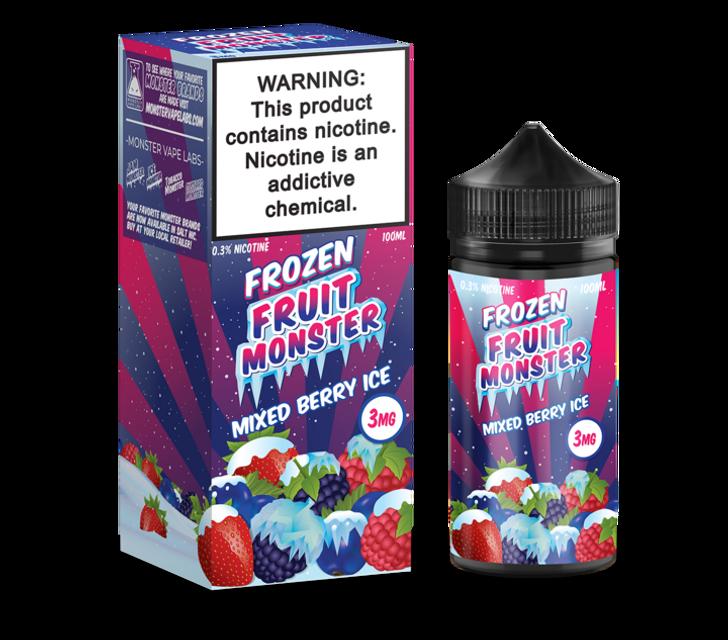 Frozen Fruit Monster E-Liquid - Mixed Berry Ice