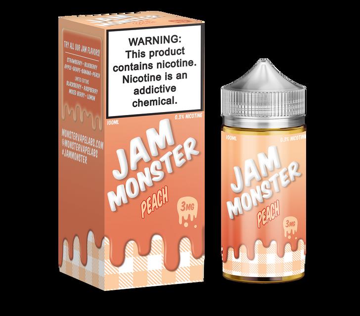 Jam Monster E-Liquid - Peach
