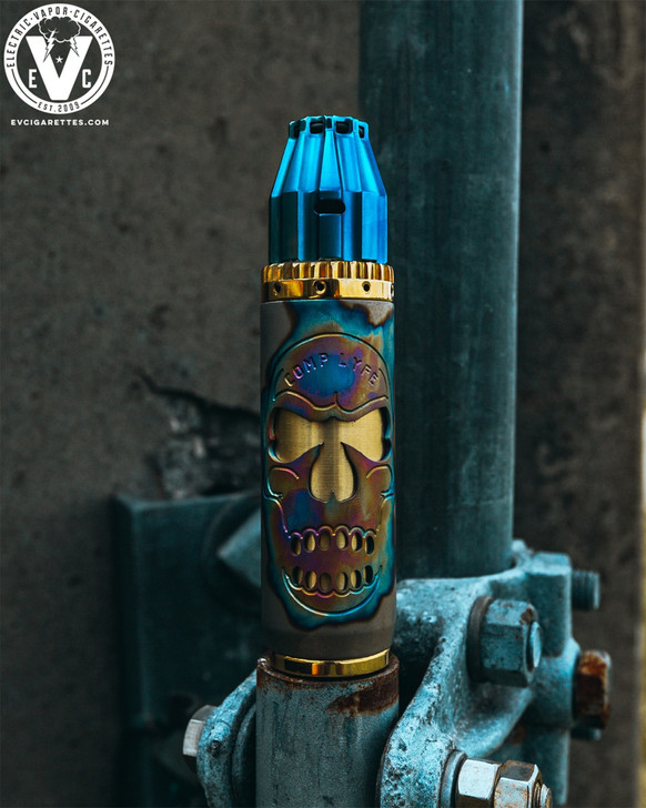 "Magnum Saw 20700 Anodized Titanium ""Skull"" Mech Bundle by Comp Lyfe"