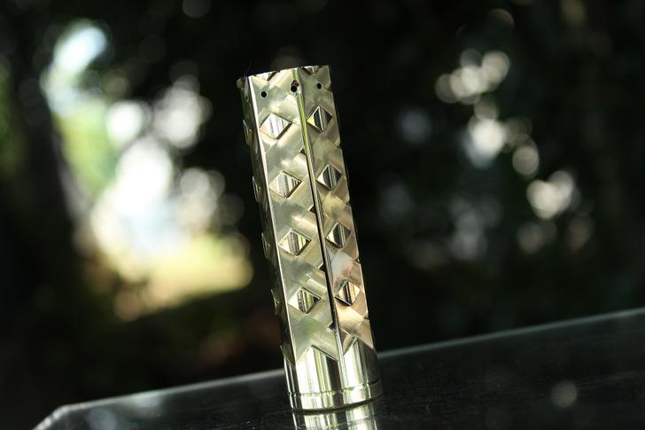 Prototype 18650 Mech MOD - Brass #8 by Comp Lyfe