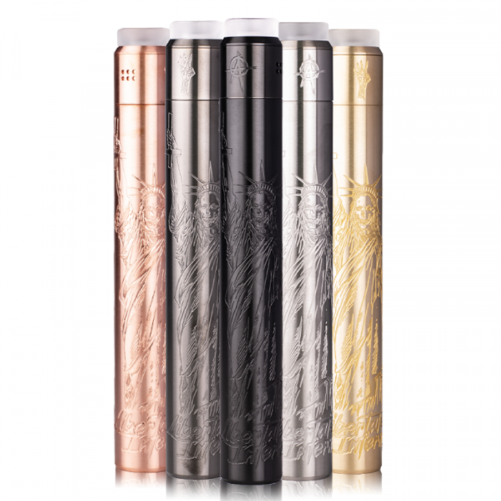 Libertatem Infernum V4 Stacked 21700 Mech Mod Kit by Deathwish Modz