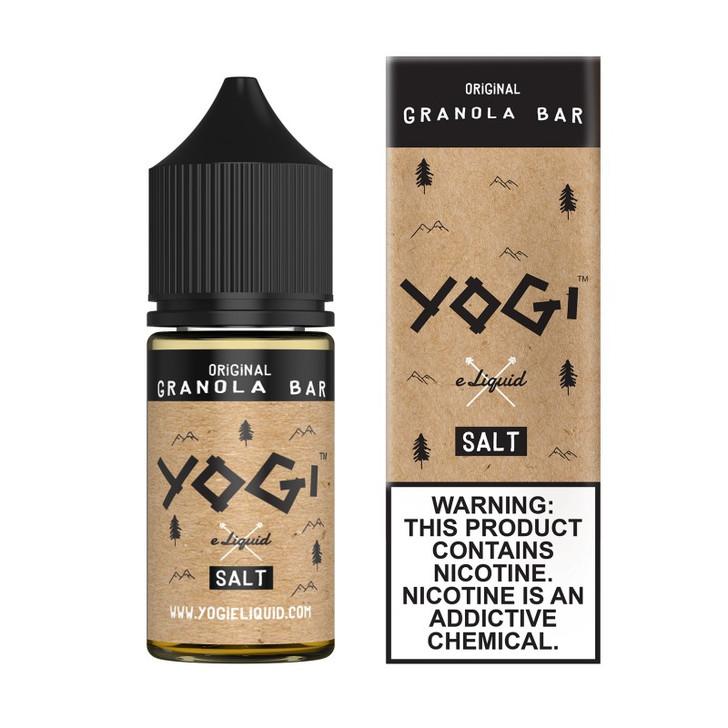 Yogi Salt E-Liquid - Original Granola Bar