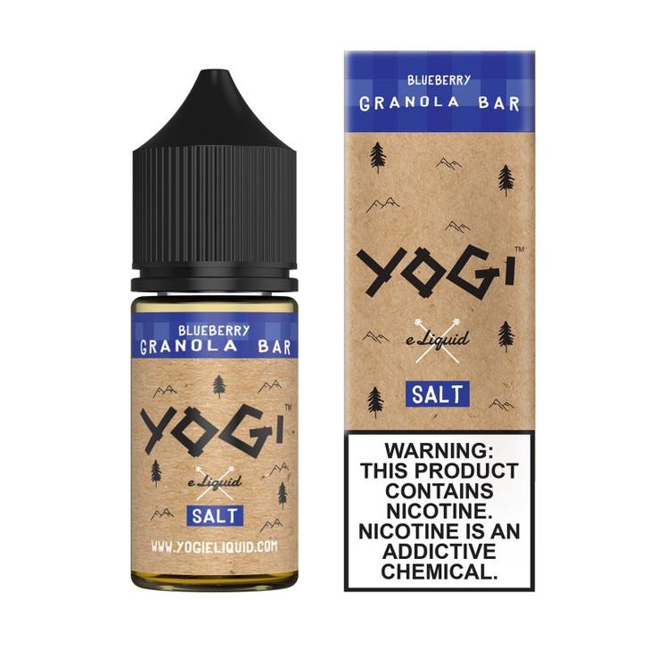 Yogi Salt E-Liquid - Blueberry Granola Bar