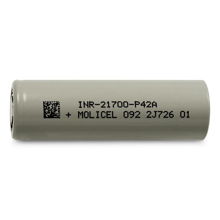 Molicel 21700 P42A 4200mAh Battery - 45A