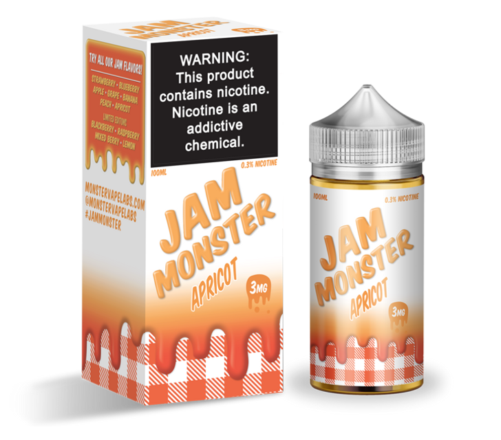 Jam Monster E-Liquid - Apricot