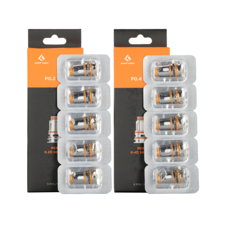 Geekvape P Series (Aegis Boost Pro) Coil Head Replacement (5pc)