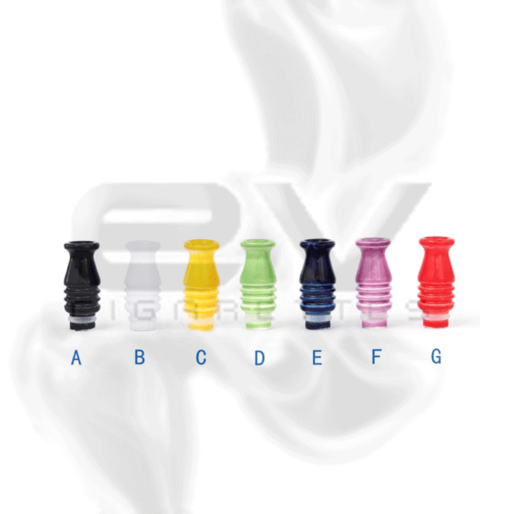 Ceramic Helix Drip Tip for 510 | 808D-1 | 901