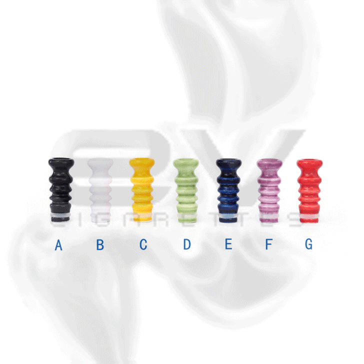 Ceramic Wave Drip Tip for 510 | 808D-1 | 901