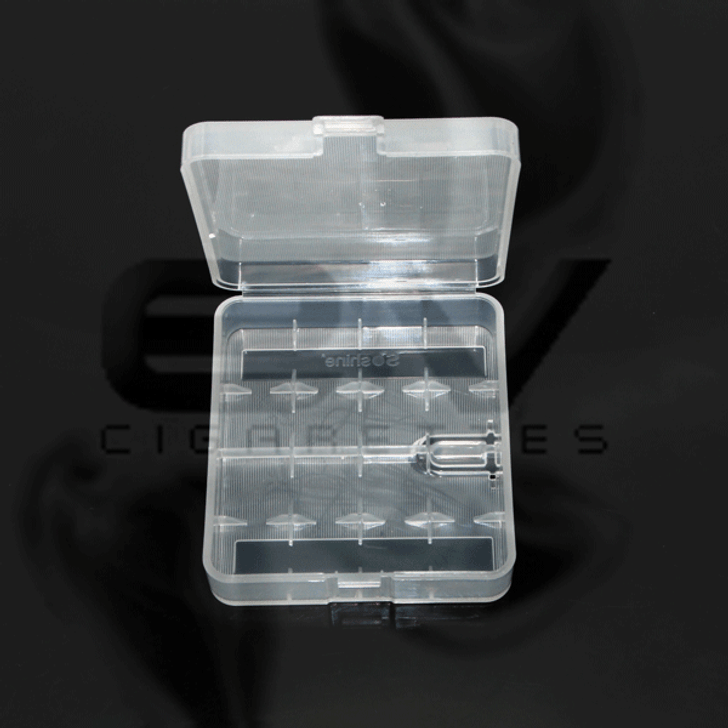 Large Plastic Carry Case for 18650