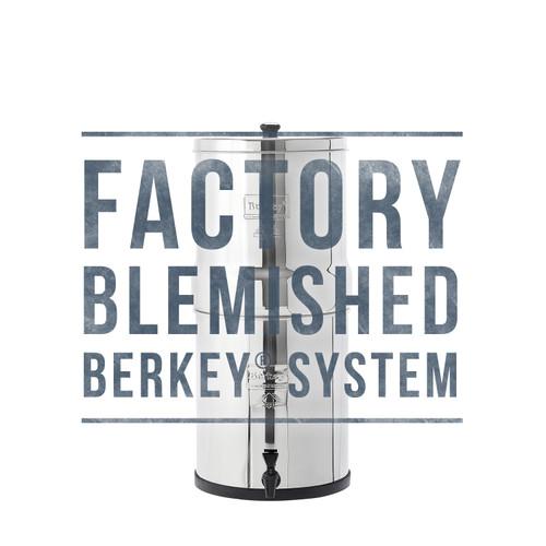 Factory Blemished Royal Berkey System
