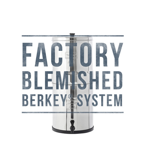Factory Blemished Travel Berkey System