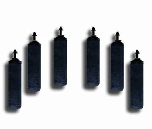 6 Black Berkey Filters