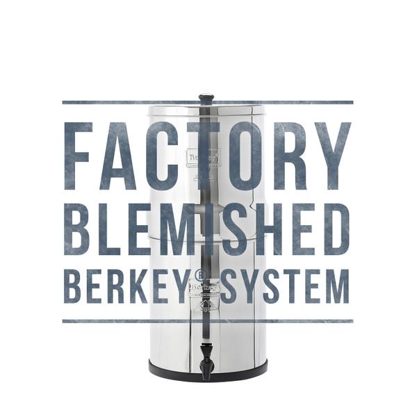 Factory Blemished Big Berkey System