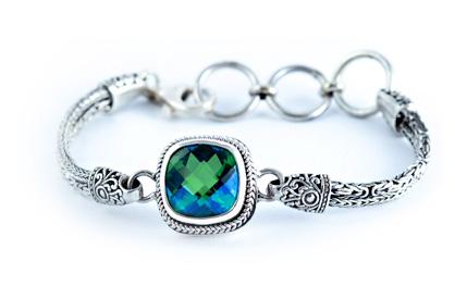 Siesta Key Gemstone Bracelet