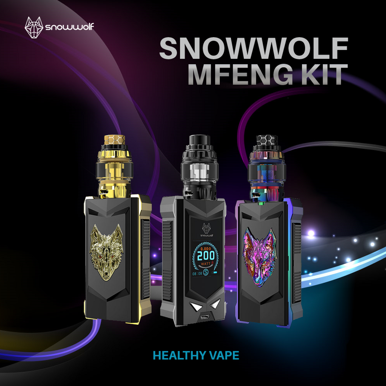 snowwolf mfeng limited edition kits vapenjays