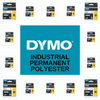 RHINO PERMANENT POLYESTER INDUSTRIAL IND TAPE RANGE BY DYMO