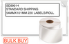 BULK DYMO 99014 / S0722420 LABELWRITER STANDARD SHIPPING LABELS 54 X 101MM (CARTON OF 12 ROLLS)
