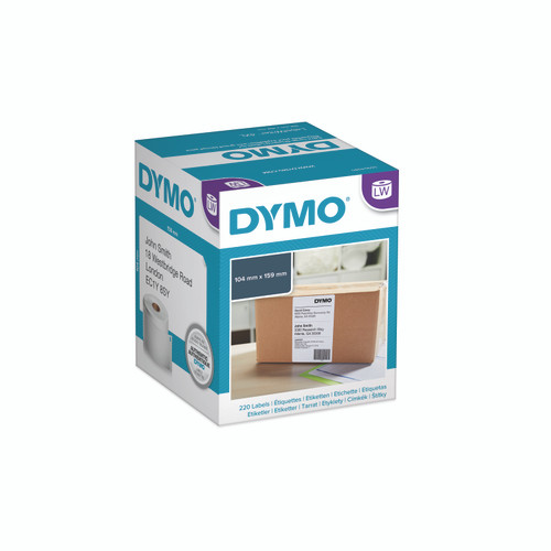 Dymo #0904980 / S0904980 Labelwriter 4Xl Extra Large Shipping Labels 104X159mm | DymoOnline