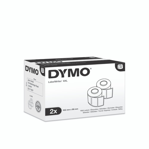 Dymo #0947420 / S0947420 Labelwriter 4Xl Small Shipping Labels 59X102mm | DymoOnline