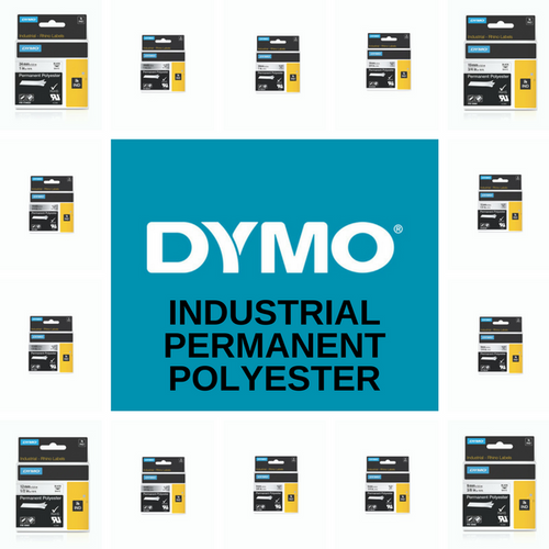 Rhino Permanent Polyester Industrial Ind Tape Range By Dymo | DymoOnline