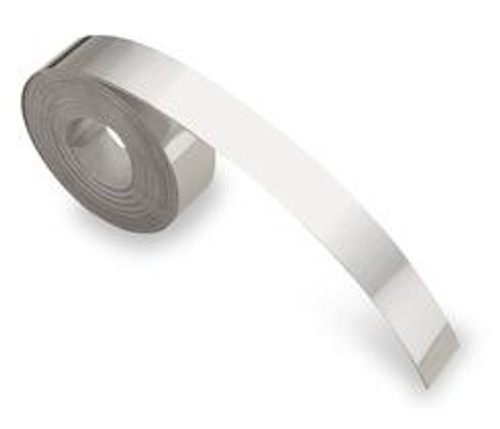 Dymo #301242 Stainless Steel Non-Adhesive Embossing Tape 12mmX4.8M Label | DymoOnline