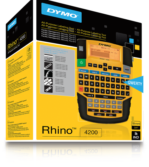 Dymo Rhino 4200 Industrial Labelling Tool (PL150 / 1801611 / S0955950 / AE010587937 / SD15604 (SDS0955950))
