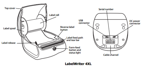 Dymo Labelwriter 4Xl Labelling Machine Lw4Xl - Buy From Your Trusted