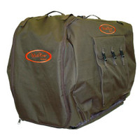Mud River Bedford Uninsulated Brown Kennel Cover - 617867116036