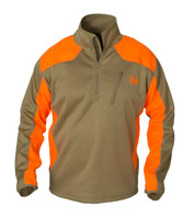 Banded Soft-Shell Upland 1/4 Zip Pullovers - 848222373775