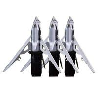 G5 Mega Meat 3 Blade Crossbow Broadheads - 817990008882