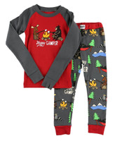 Lazyone Toddler Happy Camper Pj Set - 841654101350