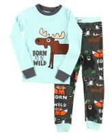 Lazyone Toddler Born Wild Pj Set - 841654109974