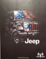 Buck Wear Jeep American Tough Short Sleeve Shirts - 703498275508