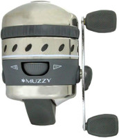 Muzzy 1097 XD Bow Fishing Reel with 150 line Installed & Extended Hood - 050301109704