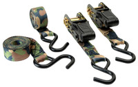 HME RS4PK Camouflage Ratchet Tie Down Straps Camouflage 4 Pack - 888151015100