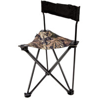 Ameristep AMEFT1013 All-Weather Foldable Backpack Hunting Camp Chair, Mossy Oak - 769524001268