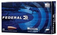 Federal Varmint & Predator 223 Rem 40 Grain Hornady V-Max 20 Rounds Per Box - V223VM40 - 604544647884