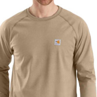 Carhartt Flame-Resistant Force Ls T Shirt - 889192681835