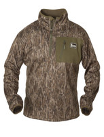 Banded Mid-Layer Quarter-Zip Fleece Pullovers (Multiple Camo Options) - 84822200440