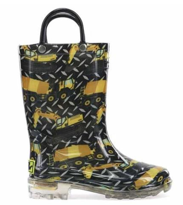 Western Chief Build Site Lighted Rain Boots - 606725498940