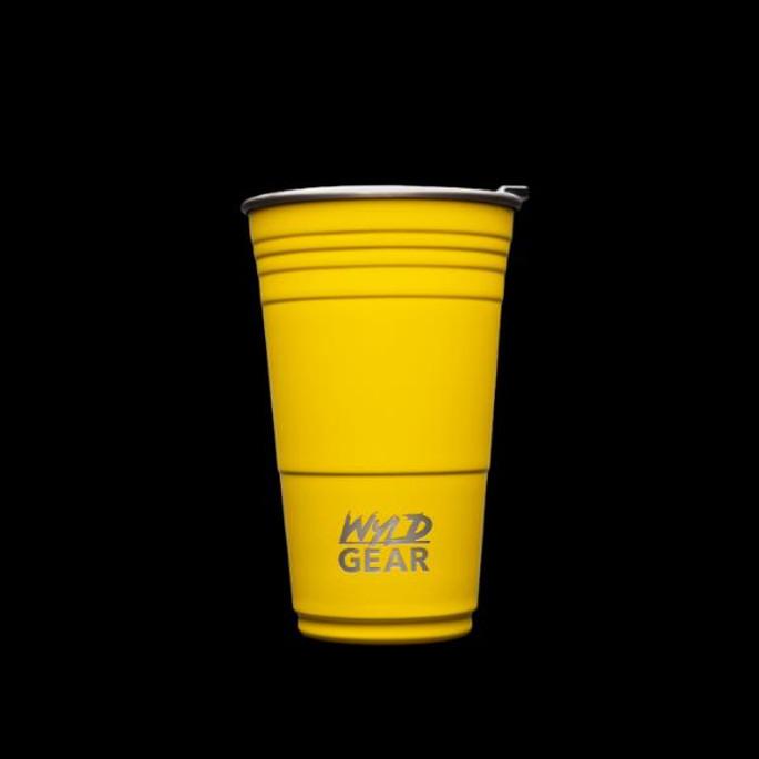Wyld Gear Wyld Cup - 16oz Yellow - 856607008136