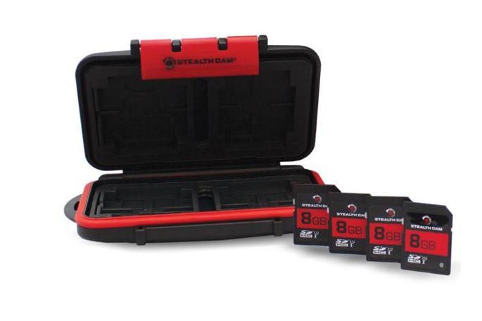 Stealth Cam Stc-mcsc-8gb Memory Card Storage Case - 888151022337