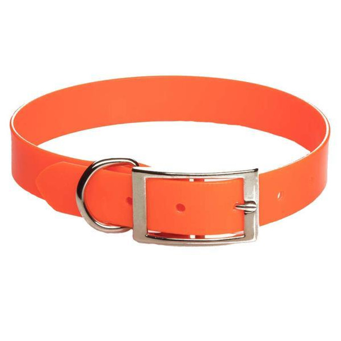 Mendota Biothane Synthetic Collar - Orange - 793721351161