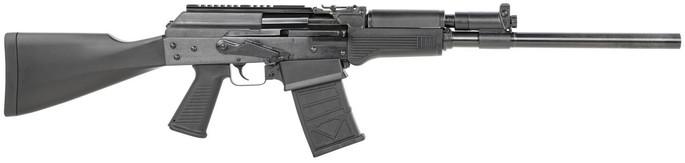 """JTS Shotgun Black 12 Gauge 18.70"""" 3"""" 5+1 Black, Fixed Stock - M12AK - 810058880000"""