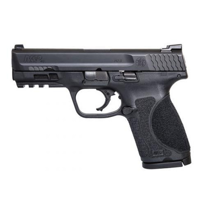 """Smith & Wesson 40 S&W 4"""" 13+1 M&P M2.0 Compact Tritium Night Sights NTS Law Enforcement  Only - 11676 - 022188872774"""
