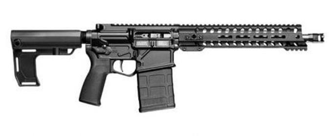 "Patriot Ordnance Factory 01662 Rogue Direct Impingement 308 Win,7.62 NATO 16.50"" 20+1 Black Anodized 6 Position MFT Stock - 847313016621"