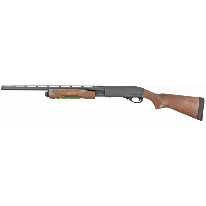 """REM Arms Firearms R25561 Model 870 Express 20 Gauge 21"""" Vent Rib 4+1 3"""" Matte Blued Rec/Barrel Satin Hardwood Stock Right Hand (Compact, Youth) Includes Modified Rem Choke - 810070682446"""