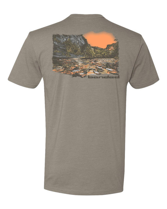 Banded Float Trip Ss Tee - B1110017 - 700905501434